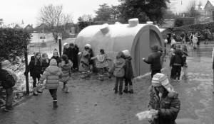 Sanitaires / École primaire du Petit-Val